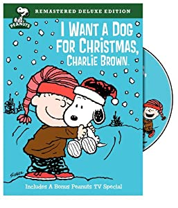 Peanuts I Want A Dog For Christmas Charlie Brown Deluxe Edition from Warner Home Video