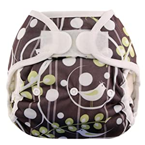 Blueberry Coveralls Diaper Cover Hook/Loop, Tweets