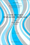 Guide pratique d'analyse musicale : C...