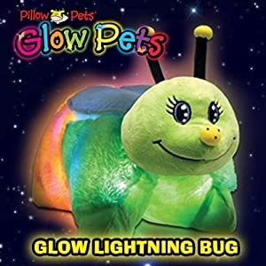 Pillow Pets Glow Pets - Lightening Bug 12""