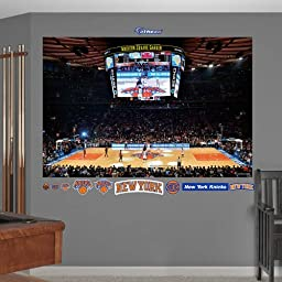 New York Knicks Arena Mural Wall Mural 72 x 48in