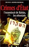 Crimes d'état: L'assassinat de Rabin, les attentats par Dan