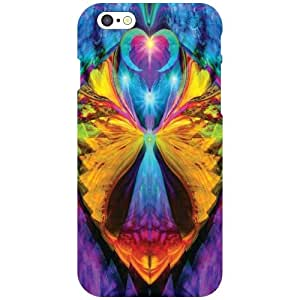 Via flowers Back Cover For Apple iPhone 6 Awesome Multi Color