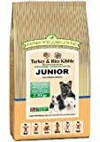 James Wellbeloved Junior Turkey and Rice Kibble 7.5 kg