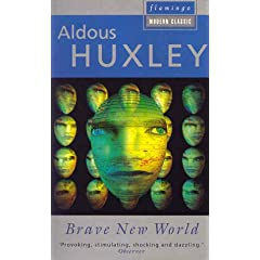 Cover of Aldous Huxley's Brave New World