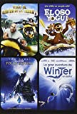 Pack: Viaje Al Centro De La Tierra 2 + El Oso Yogui + Polar Express + Winter [DVD]