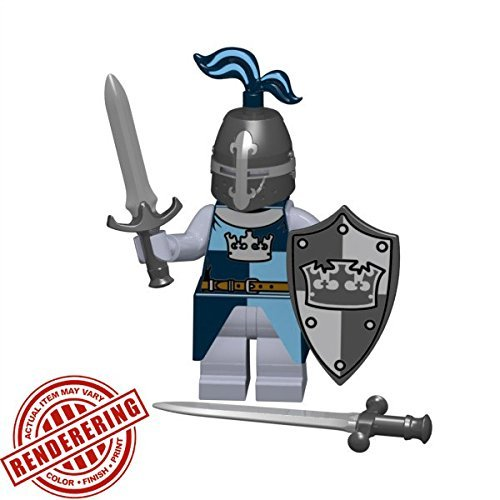 Brickforge-Crusader-Crown-Knight-Historical-Warrior-Pack-Minifigure-Not-Included