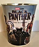 Marvel Comics: Black Panther Movie Theater Exclusive 130 oz Metal Embossed Popcorn Tub #1