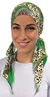 Pre Tied Bandana Turban Hat Head Scar…