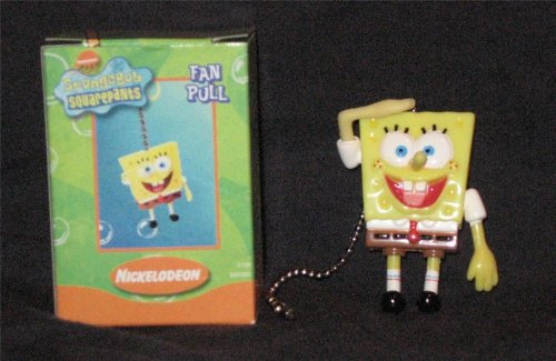 Spongebob Squarepants Home Ceiling Fan Light Pull Chain (Smiling)