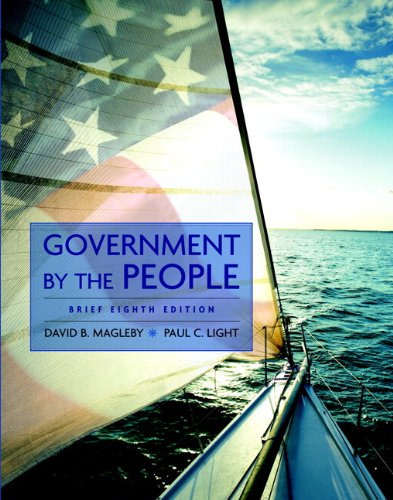 MyPoliSciLab Student Access Code Card for Government by the People, Brief (standalone) (8th Edition)