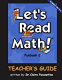 img - for Let's Read Math: Funbook 2 Teacher's Guide book / textbook / text book