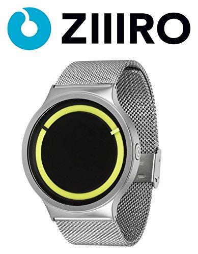 ziiiro-watch-eclipse-metallic-chrome-lemon