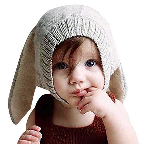 CHIC-CHIC-Hiver-Bb-Enfants-Cagoule-Bonnet-Chaud-Casquette-Echarpe-Capuche-Chapeaux-Lapin-Dguisement