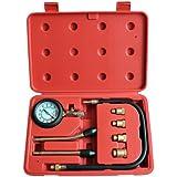 Testeur de compression pour moteurs essence - 0-20 bars ou 0-300 psi - 4 adaptateurs de 10 à 18