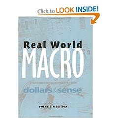 Real World Macro, 20th edition
