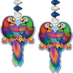 Tropical Bird Danglers Party Accessory (1 count)