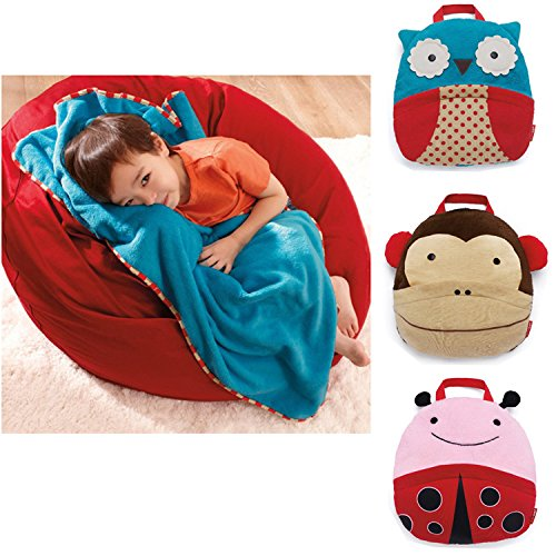 Skip Hop Zoo Nursery Bedding Portable Toddler Blankets - Ladybug