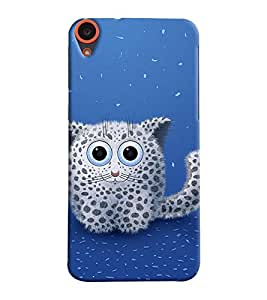 Mental Mind 3D Printed Plastic Back Cover For HTC Desire 820 - 3DHTC820- G618