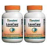 Himalaya Herbal Healthcare LaxaCare, 60 Vegetarian Capsules, (Pack of 2)