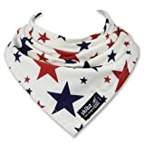 Skibz Dribble Bib - Red & Blue Stars