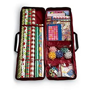 rubbermaid gift wrap storage organizer