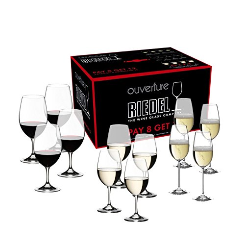 Riedel Ouverture Wine Glass Set with Red Wine/ White Wine/ Champagne Glass