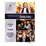 Essential Classics: Family Films: Wizard Of Oz/ The Goonies/ Willy Wonka & The Chocolate Factoryby Sean Astin