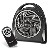 Holmes 12-Inch Blizzard Remote Control Power Fan, HAPF624R-UC