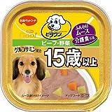 日本ペットフード ビタワングー 15歳以上 ビーフ・野菜 90g