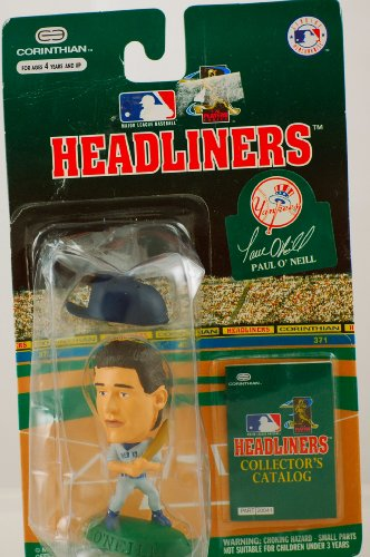 Buy Low Price Corinthian 1996 – Corinthian – MLB – Headliners – Paul O'Neill – New York Yankees – Baseball Figure – w/ Collector's Catalog – Limited Edition – Collectible (B002IAEBJQ)