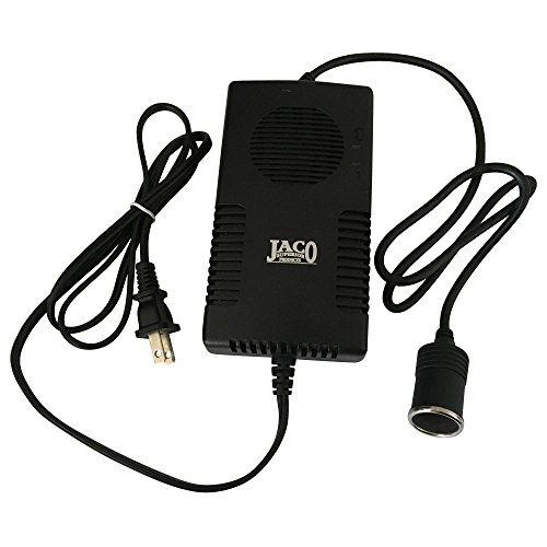 JACO AC-DC Power Adapter - 12V DC to 110V AC Converter - CE Certified - 10A/120W (5 Amp Ac To Dc Converter compare prices)