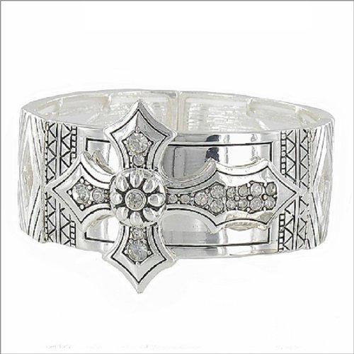 Artist Pattern with Cross Stretch Bracelet #041444