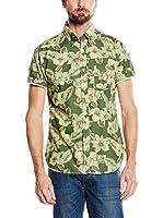 Cortefiel Camisa Hombre (Verde)