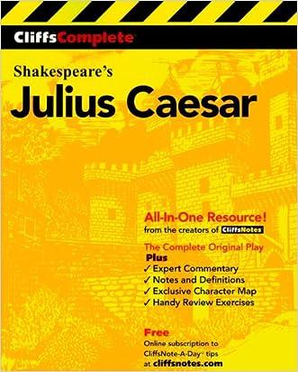 CliffsComplete Julius Caesar written by William Shakespeare