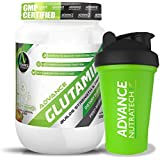 Advance Nutratech Combo Glutamine 300gm 0.66lbs Fruit Punch Flavour With Shaker