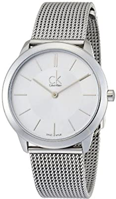 Calvin Klein ck Minimal Mesh Mens Watch K3M22126