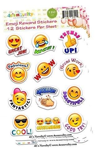 120-Emoji-Reward-Stickers-great-for-teachers-4Es-Novelty