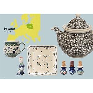 東欧のかわいい陶器: ポーリッシュポタリーと、ルーマニア、ブルガリア、ハンガリー、チェコに受け継がれる伝統と模様