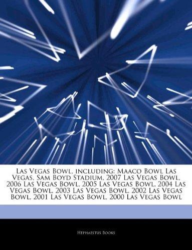 Las Vegas Bowl, including: Maaco Bowl Las Vegas, Sam Boyd Stadium, 2007 Las Vegas Bowl, 2006 Las Vegas Bowl, 2005 Las Vegas Bowl, 2004 Las Vegas Bowl, ... 2001 Las Vegas Bowl, 2000 Las Vegas Bowl