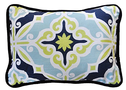 New Arrivals Accent Pillow, Starburst in Kiwi, 2 Count