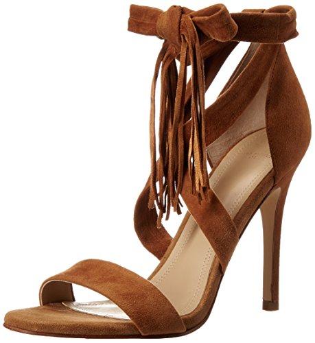 Marc Fisher LTD Women's Lauren Dress Sandal, Medium Brown, 6.5 M US (Marc Fisher Shoes compare prices)
