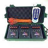BILUSOCN Profession 12cue 433MHZ Wireless remote control Fireworks firing system
