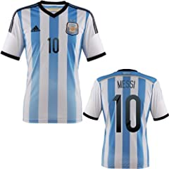 Buy Argentina soccer jersey World Cup 2014, Messi, Higuain, Lavezzi, Aguero official names offered by G2G Sport Chicago