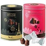 Mathez(マセズ) マテーズ トリュフチョコ2缶セット (フランス チョコレート)
