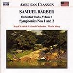 Barber: Orchestral Works, Vol. 1: Ove...