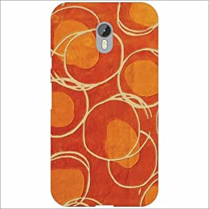 Design Worlds - Moto G (3rd Generation) Designer Back Cover Case - Multicol...