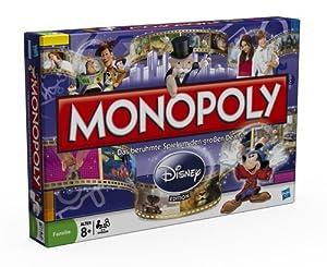 Hasbro - Parker 19643100 - Monopoly Disney Neuauflage