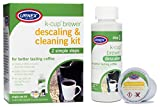 Urnex Descaling and Cleaning Kit Use With K-Cup Brewer Coffee Machine - Simple 2 Step