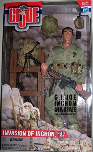 "G.I. Joe Invasion Of Inchon, 15 Sept. 1950 12"" Action Figure"
